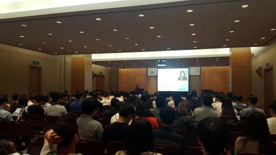한이음 데이 성황리 개최...대학생 100개 팀 참가